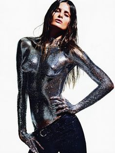 Isabeli Fontana photographed by Mario Sorrenti – the final image in the Vogue Paris 2013 calendar