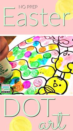 NO prep, ALL sounds DoT ArT pages for articulation therapy ~ Keep hands and mouths busy while getting tons of repetitions - then send home as speech therapy homework!