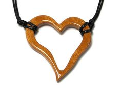Hey, I found this really awesome Etsy listing at https://www.etsy.com/listing/214947258/wooden-heart-necklace-wood-heart-pendant