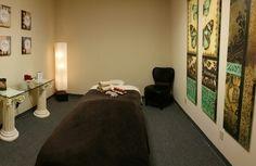 Private massage room