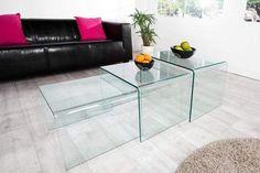 GHOST 3 részes üveg dohányzóasztal szett #lakberendezes #otthon #otthondekor #homedecor #homedecorideas #homedesign #furnishings #design #ideas #furnishingideas #housedesign #livingroomideas #livingroomdecorations #decor #decoration #interiordesign #interiordecor #interiores #interiordesignideas #interiorarchitecture #interiordecorating #glassdesign  #glassdecor #glasstable #glasshouseinterior Karton Design, Waiting Area, Decoration, Furniture Design, Lounge, Rococo, Living Room, Modern Design, Glass