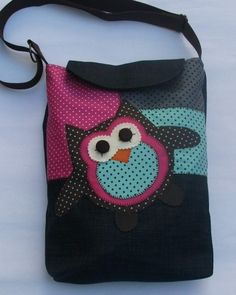 owl on a bag