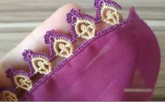 Tatting Jewelry, Crochet Videos, Chrochet, Make It Yourself, Lace, Etsy, Design, Crowns, Couture