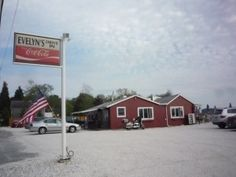 Evelyn's Drive-in, Tiverton, R.I., is seasonal and has some amazing seafood and water views.