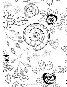 Amazon Really RELAXING Colouring Book 3 Botanicals