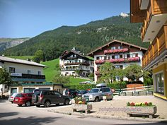 Going to the town center - Wolfgangsee, Austria as featured on Happy Steps travel blog   http://www.happysteps.net/2012/08/11/special-travel-feature-wolfgangsee-austria-rainydazeee/