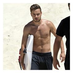 Liam Payne Shirtless pictures ❤ liked on Polyvore featuring liam payne, one direction, liam, famous people and ppl