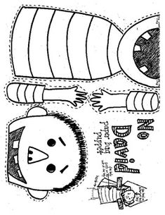 """Students will love acting out their favorite """"David"""" scene. Glue the base piece ( shirt and chin) under a lunch-sized paper bag flap. 1st Day Of School, Beginning Of The School Year, Pre School, School Days, Sunday School, Beginning Of Kindergarten, Kindergarten Classroom, Classroom Ideas, Kindergarten Readiness"""