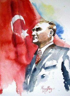 Rezzan Yildiz Turkish Artist-watecolor