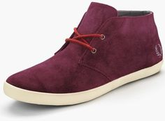 Fred Perry Mens Byron Mid Suede Boots