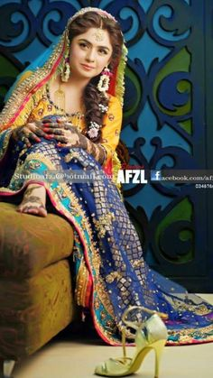 a7a55d4035 28 Best Pakistani Mehndi Dresses images | Pakistani dresses ...