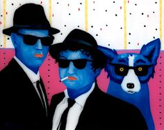 Musings of an Artist's Wife: My Blues Brothers artist George Rodrigue