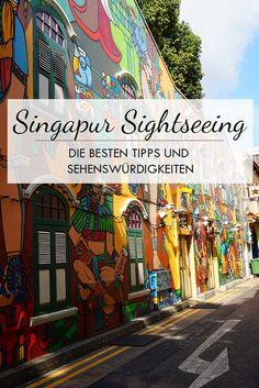 Singapur Sightseeing Pinterest Bild