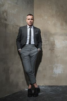 Thom Browne, CFDA Menswear Designer of the Year Nominee [Photo: Sasha Maslov]