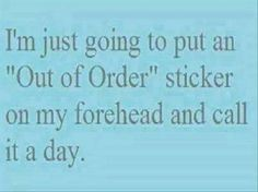 Been that kind of day! https://www.facebook.com/FibroFightersandChronicPain