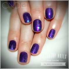 CND Grape Gum & Nordic Lights