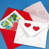 Craft project: See how easy it is to make a custom envelope for all of your handmade cards. The envelope can be made from white or colored paper and can be decorated to match your card.