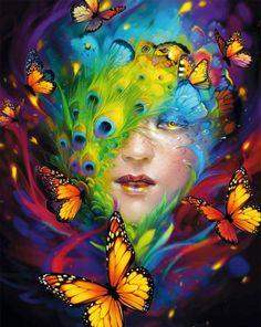 Digital Art by Helen Rusovich   Cuded
