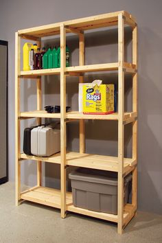 With several 12'' Storage Rack Frames, you can create a custom storage unit. Made with all-natural wood, your one-of-a-kind storage system will clean up any cluttered space.
