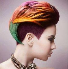 Lass das Tier in Dir los und wähle den neuesten Haartrend … Unicorn Hair! Hast Du den Mut Deine Haare nicht mehr nur Grau, sondern in allen Regenbogenfarben zu färben? - Seite 6 von 11 - Neue Frisur