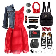 """""""Red Dress"""" by scarlett-morwenna ❤ liked on Polyvore"""