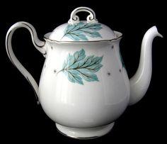 Shelley Tea Pot Drifting Leaves Gainsborough Teapot Teapot 1960s
