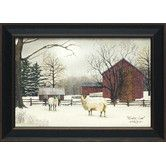 Found it at Wayfair - Artistic Reflections Winter Coat Framed Art