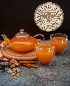 Orange Rooibos Chai:  Prep Time: 15 Minutes Cook Time: 30 Minutes Makes: About 6 Cups