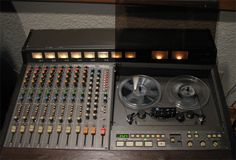 """Teac Tascam 388 1/4"""" 8 track tape recorder in the Reel2ReelTexas.com vintage recording collection"""