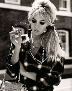 Abbey Clancy for Love Magazine and her 60s look