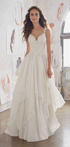 romantic ruffles morilee wedding dresses for 2017