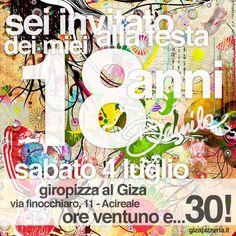 Biglietti W I Miei 18 Anni Bigliett10 D Invito Per