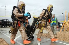 83rd Chemical Battalion cbrn   Las Vegas Readiness Center to collect samples from a possible chemical ...