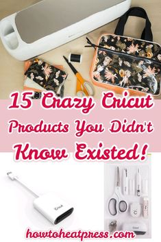 15 Crazy Cricut Products You Never Knew Existed! 15 Crazy Cricut products you didn't know existed! Vinyle Cricut, Cricut Heat Transfer Vinyl, Iron On Cricut, Cricut Iron On Vinyl, How To Use Cricut, Cricut Help, Cricut Air, Cricut Craft Room, Diy Cutting Board