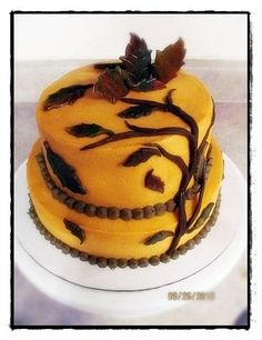 Falll birthday cake 2009