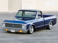 Clean and low 72 Chevy Pickup