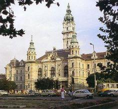 Gyor, city hall