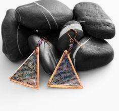 Orecchini+Art+to+wear180+in+rame++di+SilmieCreations+su+DaWanda.com