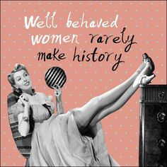 Women behaving badly. NEW to our retro Framed Again range