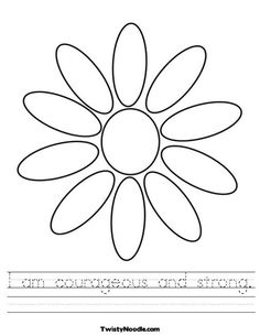 courageous and strong opening coloring page
