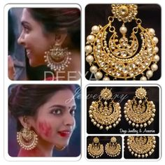 Deepika Ram Leela Earrings