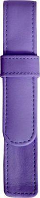 Royce Leather 1 Pen Case Purple