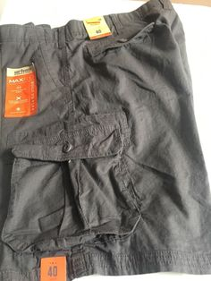 d9c378ae27 Urban Pipeline Mens MaxFlex Ripstop Cargo Shorts size 40 NEW #fashion  #clothing #shoes