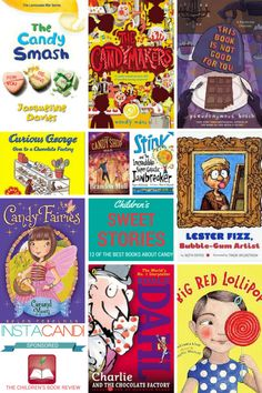 Sweet Books for Kids: 12 of the Best Kids books about Candy