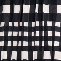 DIAGONAL LINE BLACK COTTON SWEATSHIRT JERSEY FABRIC SOLD BY THE METRE