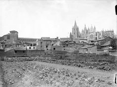 León, fotos antiguas, catedral.