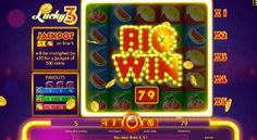 Lucky 3 slotmaskiner gratis. Gör dig redo för ett extraordinärt äventyr fullt av vinster#Lucky3 #slotmaskiner #gratis