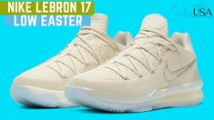 Nike LeBron 17 Low Easter: Since they're dialed up to a color that makes up all its own complexion and features Swoosh molds Retro Jordans 11, Nike Air Jordans, Nike Air Max, Lebron 17, Nike Lebron, Lebron James, Nike Elite Socks, Nike Socks, Air Jordan Basketball Shoes