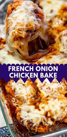 Baked Chicken Recipes, Turkey Recipes, Creamy Pasta Bake, French Onion Chicken, Sunday Recipes, Pressure Cooker Recipes, Slow Cooker Chicken, Casserole Recipes, Food Dishes