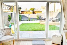 Modern back garden makeover, before and after. Small Back Gardens, Small Backyard Gardens, Backyard Patio Designs, Backyard Landscaping, Small Garden Ideas Modern, New Build Garden Ideas, Small Garden New Build, Small Garden Landscape, Contemporary Garden Design